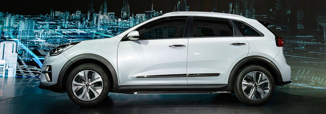 2019 Kia Niro EV exterior drivers side profile