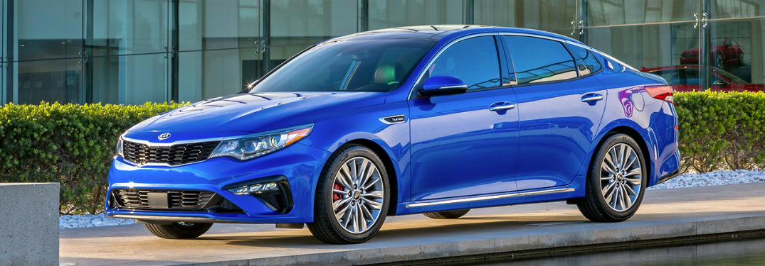 2019 Kia Optima exterior front fascia and drivers side