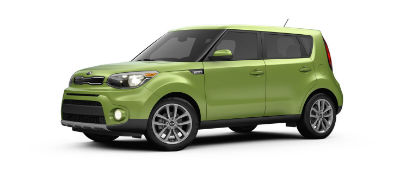 alien 2019 Kia Soul exterior front fascia and drivers side