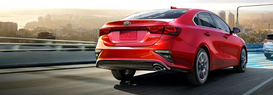 2019 Kia Forte exterior back fascia and drivers side