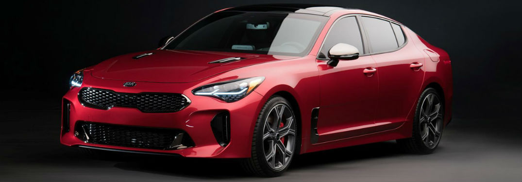 2019 Kia Stinger exterior front fascia and drivers side