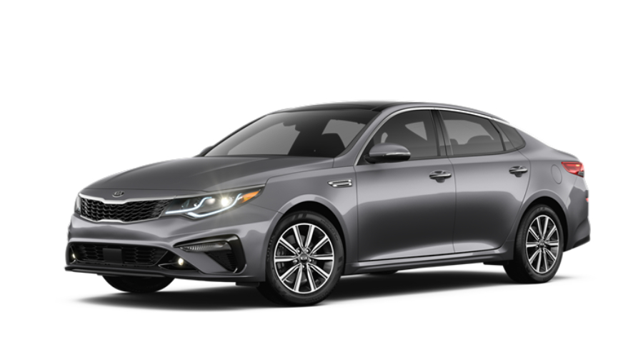 2019 Kia Optima in Platinum Graphite