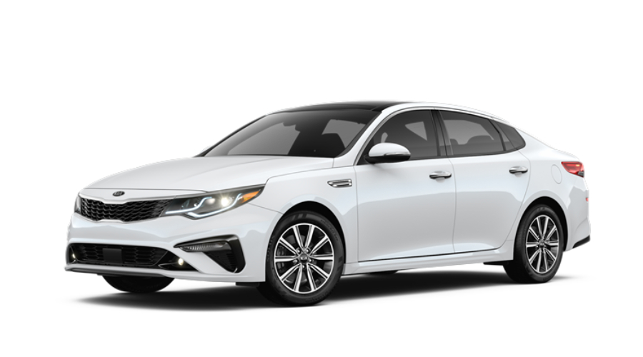 2019 Kia Optima in Snow White Pearl