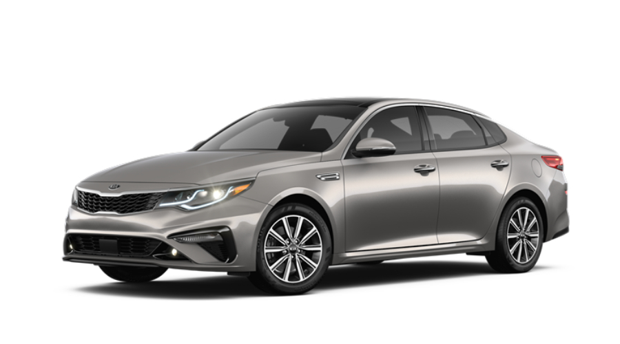 2019 Kia Optima in Titanium Silver