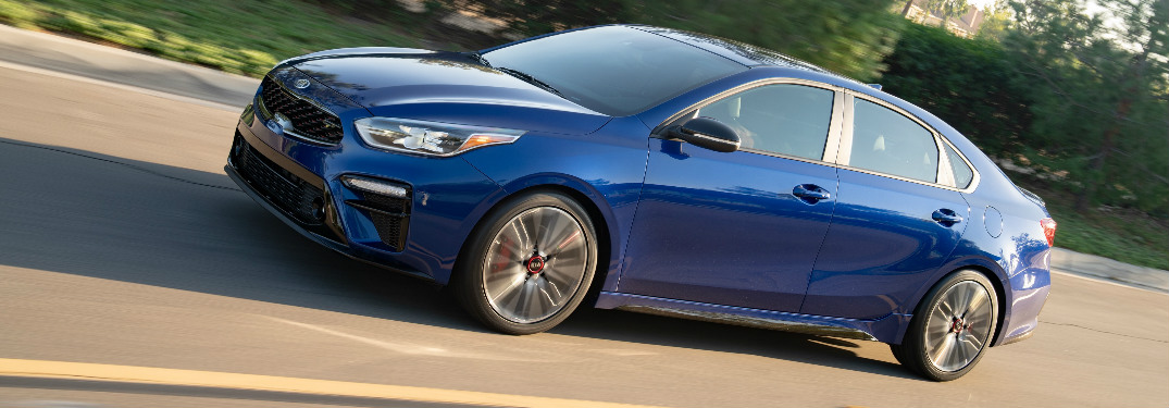 2020 Kia Forte GT side profile