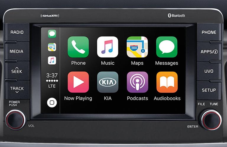 2019 Kia Rio Touchscreen
