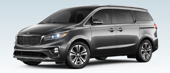 2019 Kia Sedona in Pantera Metal