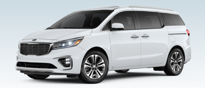 2019 Kia Sedona in Snow White Pearl