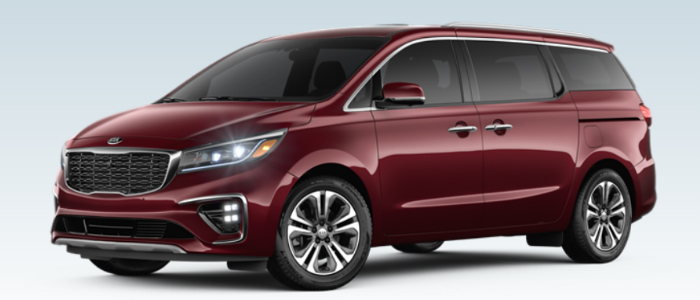 2019 Kia Sedona in Venetian Red