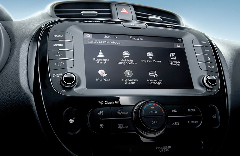 2019 Kia Soul touchscreen display