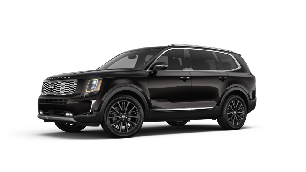 2020 Kia Telluride in Black Copper