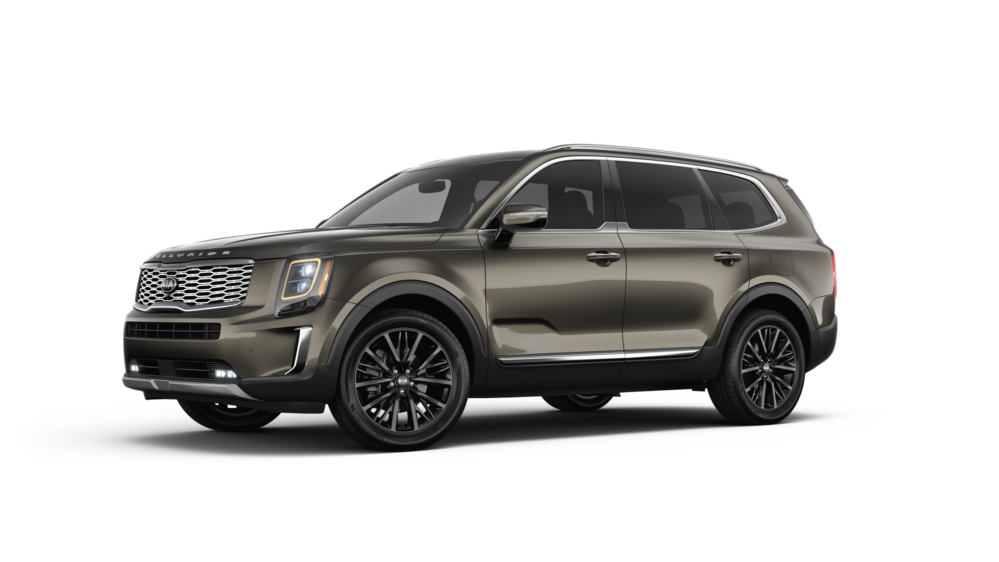 2020 Kia Telluride in Dark Moss
