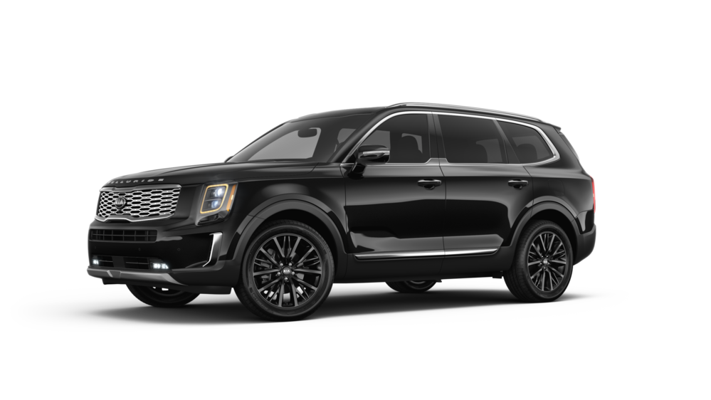 2020 Kia Telluride in Ebony Black