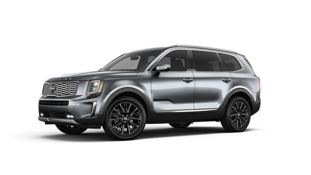 2020 Kia Telluride in Gravity Grey