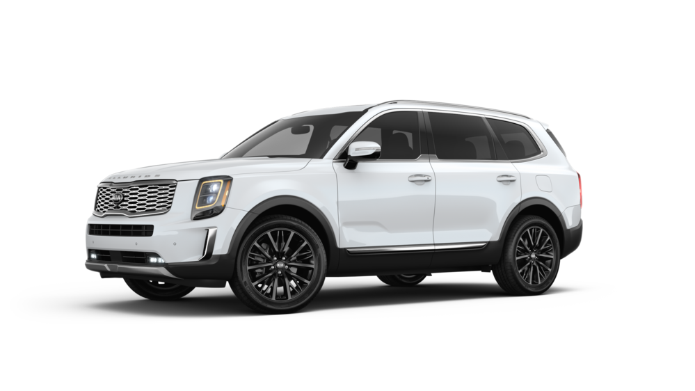2020 Kia Telluride in Snow White Pearl