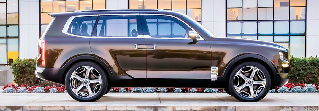 2020 Kia Telluride side profile