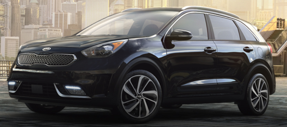 2019 Kia Niro in Aurora Black Pearl