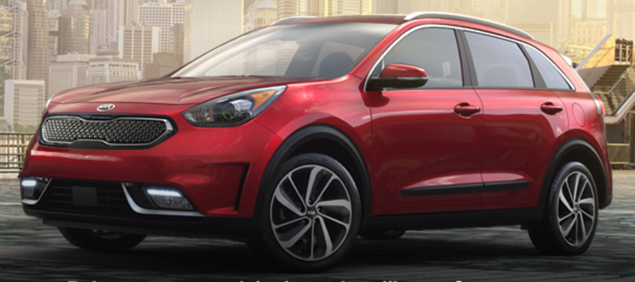 2019 Kia Niro in Runway Red