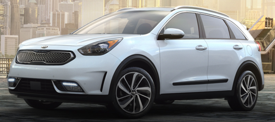 2019 Kia Niro in Snow White Pearl