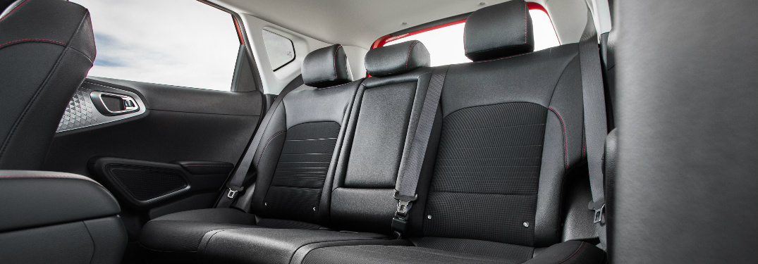 2020 Kia Soul rear seats