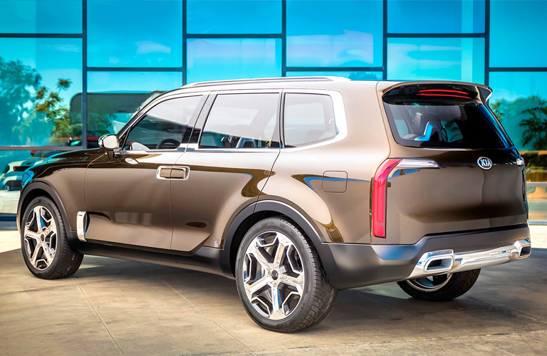 2020 Kia Telluride side and rear exterior