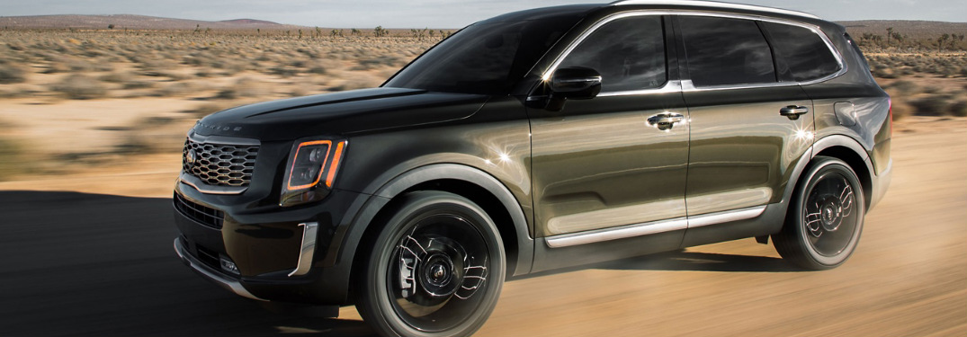 How many passengers can the Kia Telluride SUV hold?