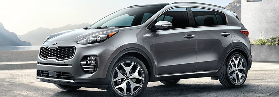 What safety features are available on the 2019 Kia Sportage?