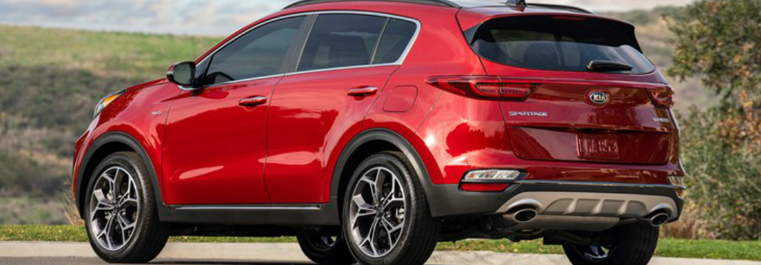 2020 Kia Sportage Trim Level Comparison