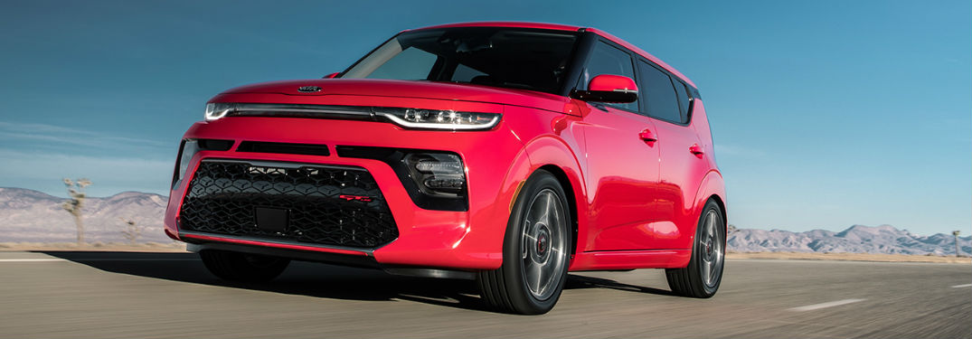 2020 Kia Soul in red