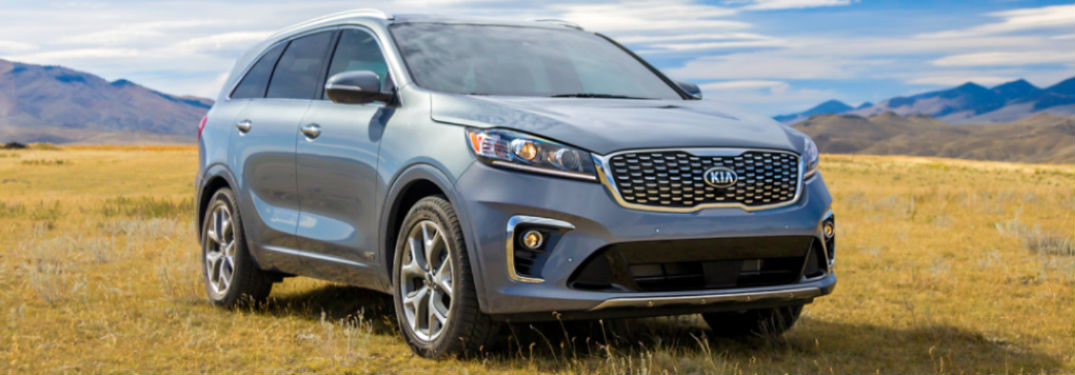 What colors are available on the 2020 Sorento?