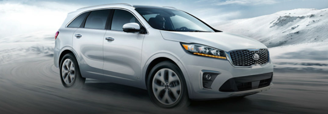 2020 Kia Sorento in white