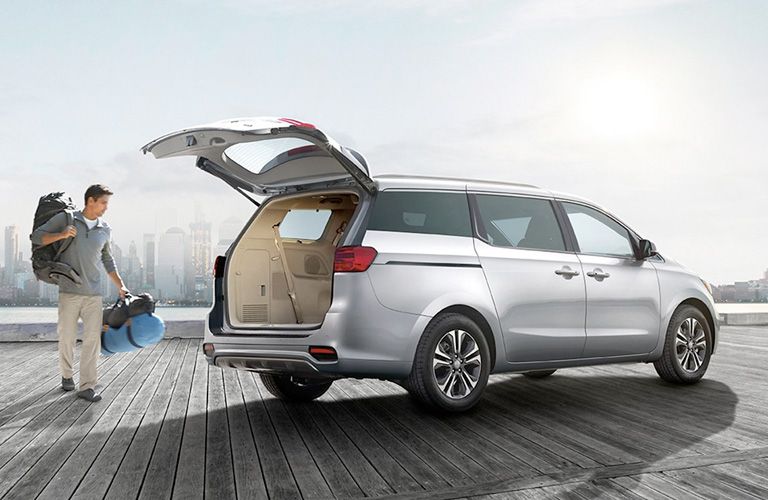 2020 Kia Sedona liftgate open