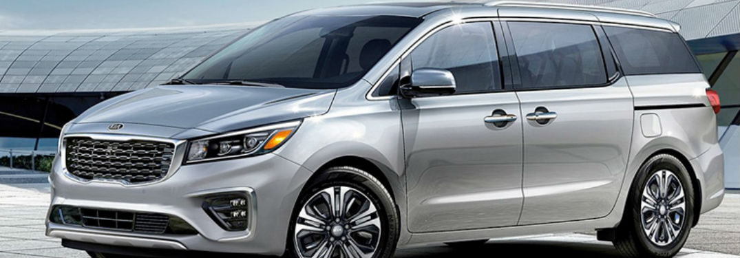 2020 Kia Sedona in gray