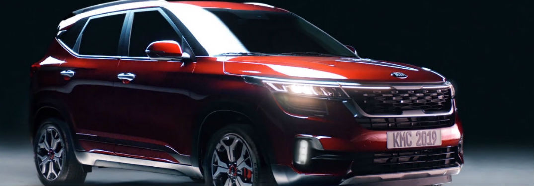 2021 Kia Seltos in red