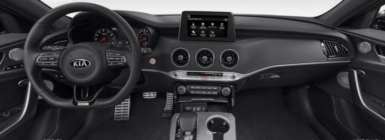 2020 Kia Stinger Black Nappa Leather Interior