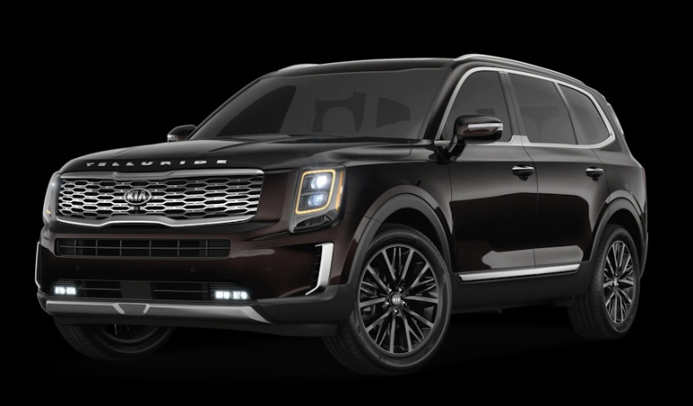 What Are The Exterior And Interior Color Options For The 2020 Kia Telluride
