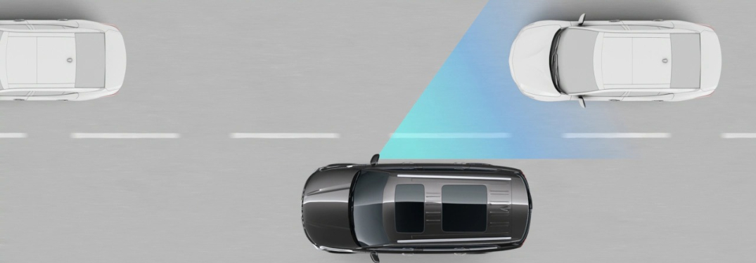 Blind-Spot View Monitor as part of Kia Drive Wise
