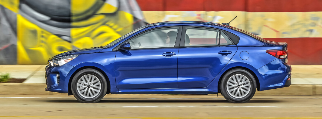 What Interior and Exterior Color Options are Available on the 2020 Kia Rio?