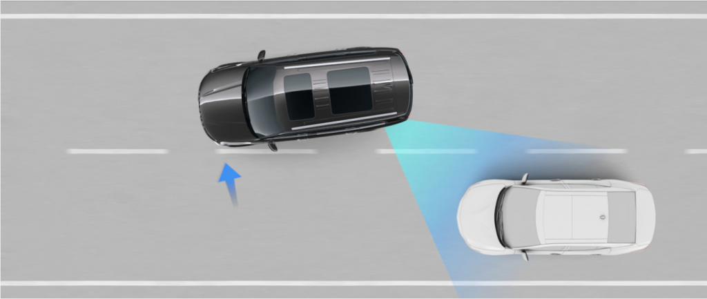 Kia Drive Wise Blind-Spot Collision-Avoidance Assist