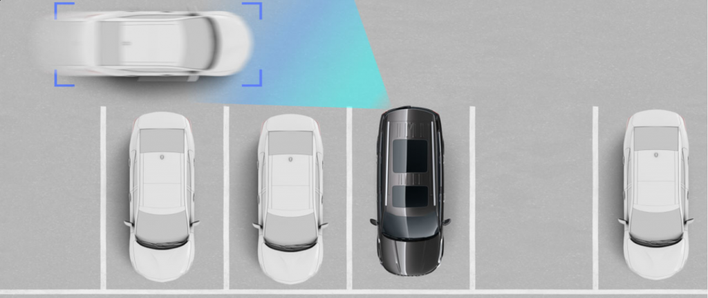Kia Drive Wise Rear Cross-Traffic Collision-Avoidance Assist