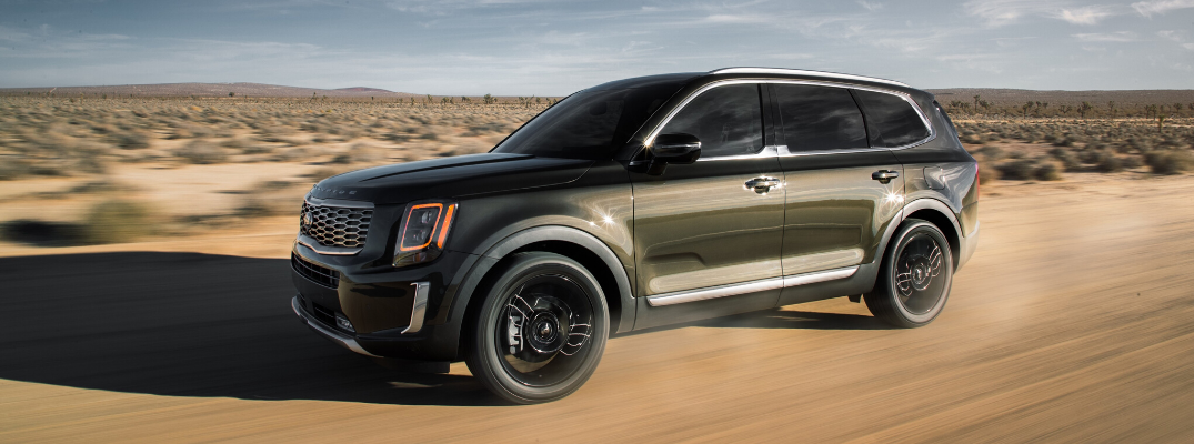 What Features Come Standard on Each 2020 Kia Telluride Trim?