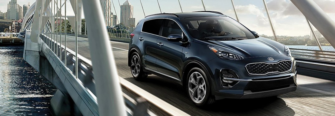 What Engine Option Comes Standard in the 2020 Kia Sportage?