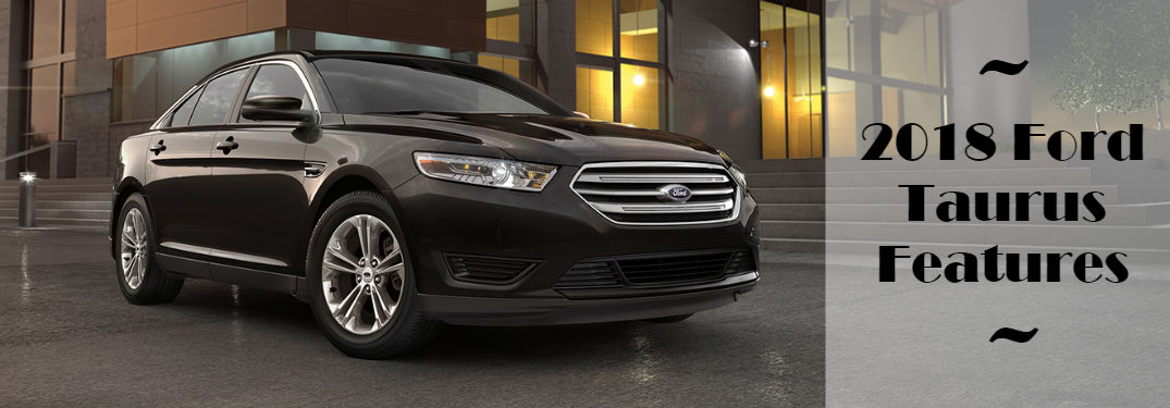 2018 Ford Taurus Features