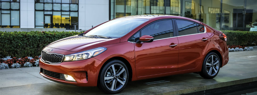 New Features on the 2017 Kia Forte