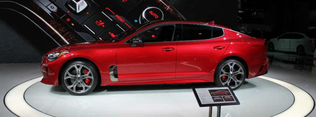 Exclusive 2018 Kia Stinger Pictures From 2017 Chicago Auto