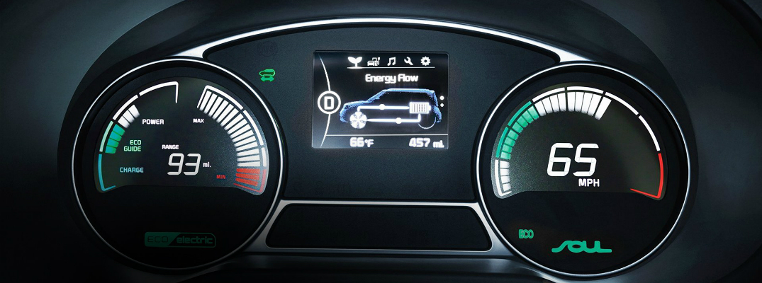 Features of the 2017 Kia Soul EV Tech