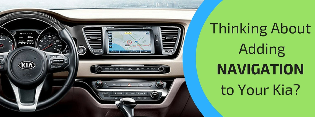 Benefits of Adding Navigation to Your Kia
