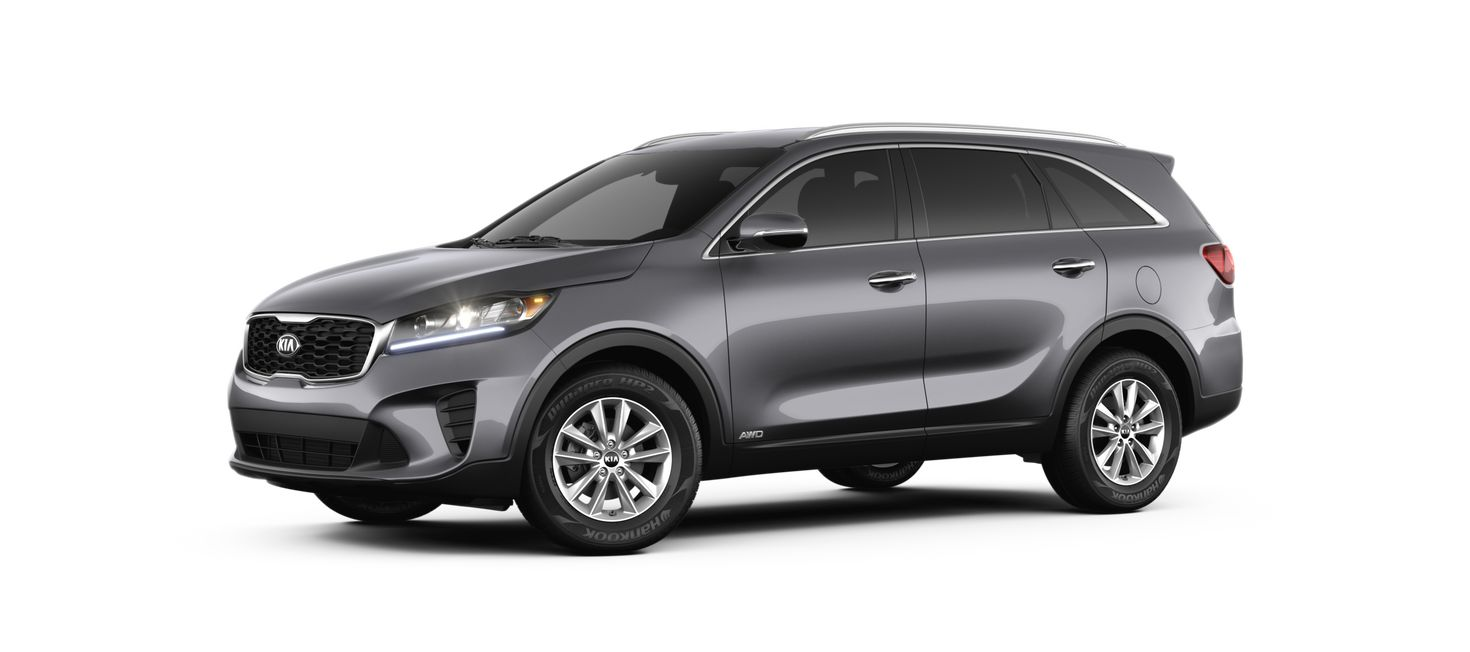 2019 Kia Sorento Platinum Graphite Side View O Performance Kia