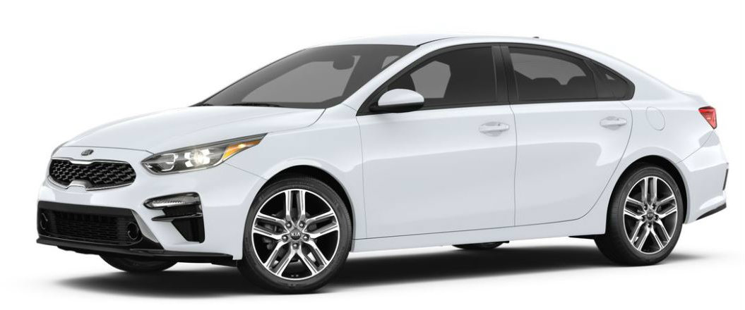 2019 Kia Forte in Clear White