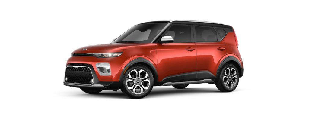2020 Kia Soul Mars Orange-Cherry Black